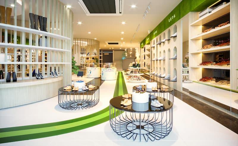 Mẫu trang trí nội thất thu hút khách hàng
